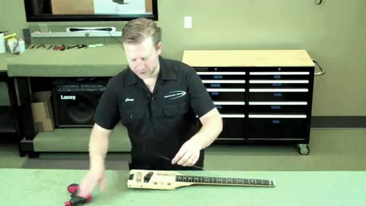 How to Change a String On Your Traveler Guitar