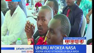 Kinara wa NASA Raila Odinga atembelea Johnstone Muthama na mbunge Moses Kuria: Jukwaa la KTN