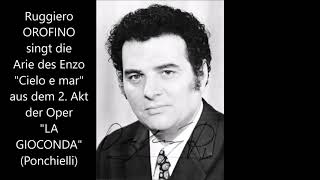 Ruggiero Orofino singt Enzo: