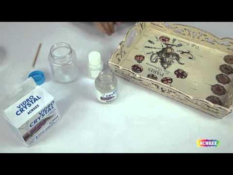 Como utilizar Vidro Crystal