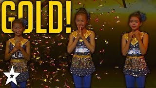 Young Contortion Dancers Win GOLDEN BUZZER on Cambodia