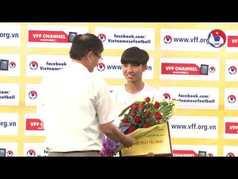 Dự tuyển QG giành ngôi Á quân giải bóng đá nữ Vô địch U16 Quốc gia 2019