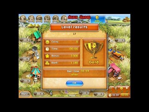 Farm Frenzy 3 Madagascar (level 17) only GOLD Веселая ферма 3 Мадагаскар (Уровень 17) Золото
