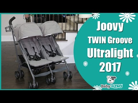 Joovy Twin Groove Ultralight Double Umbrella Stroller Review