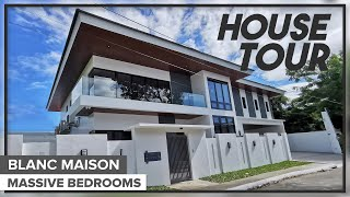 House Tour 10 || Splendid Designer Home in Paranaque City | Brand New House | Spacious Bedrooms