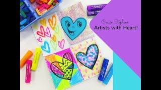 Artists Who Use Hearts In Their Art!