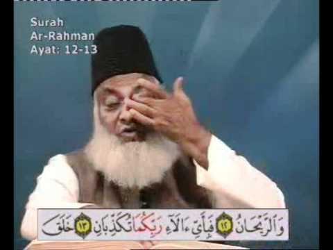 Surah Ar Rahman Tafseer