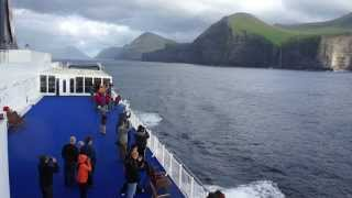 preview picture of video 'Smyril Line - Faroe Islands 2013'