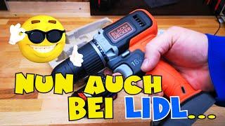 Lidl - Black & Decker 2-Gang Akku-Schlagbohrschrauber 18 V - Vorstellung und Einsatz