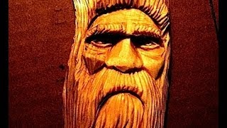 Full Wood Spirit Carving Tutorial By Dmallen How To Carve A Face