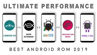 dot os vs pixel experience vs reserruction remix vs aosp