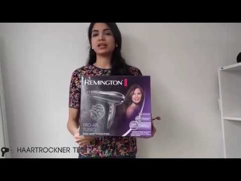 Remington D5220 2, 400 Watt Ionen Haartrockner Unboxing & Praxistest