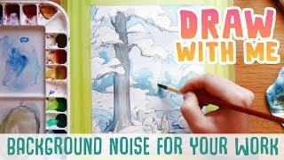 Draw with me • Snow Cat Prince style exploration