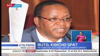 PS Kibicho accuses DP Ruto of harassment