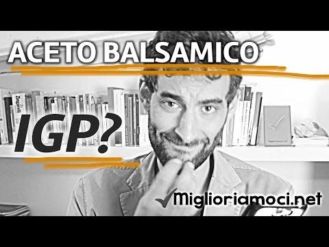 Aceto Balsamico IGP, crema di aceto... - #ProiettiliInformativi #57