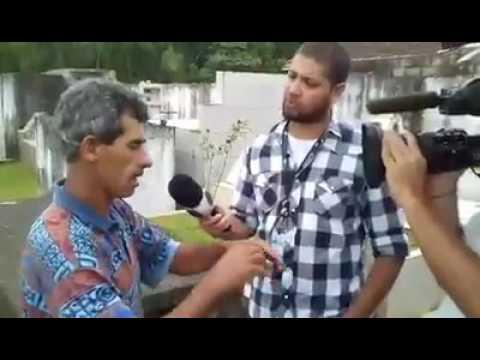 Record em Juquitiba caso da Garota Pamela Silva - entrevista pai