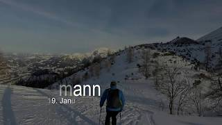 Skitour Watzmann – Gugel