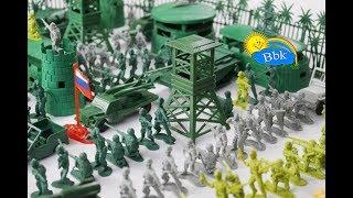Домашние сражения игрушек ↑ Военные солдатики,  нёрфы, роботы ↑ Обзор игрушек