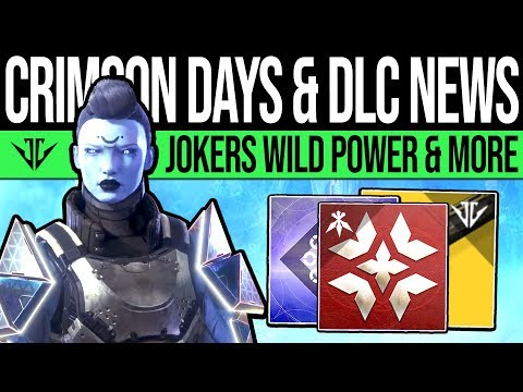 Destiny 2 | JOKERS WILD CHANGES & CRIMSON DAYS! 700 Power Warning, Event Rewards, New Buffs & More!