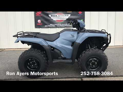 2018 Honda FourTrax Foreman 4x4 ES EPS in Greenville, North Carolina - Video 1