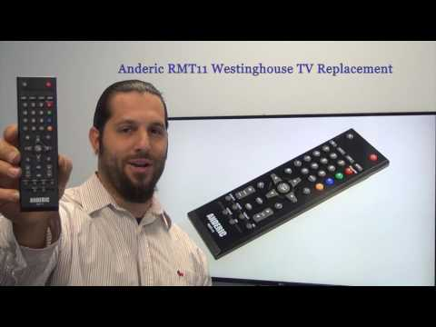 ANDERIC RMT11 WESTINGHOUSE TV Remote Control