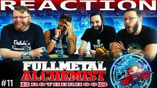 "Fullmetal Alchemist: Brotherhood Episode 11 REACTION!!! ""Miracle At Rush Valley"""