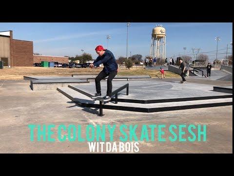 The colony skatepark sesh WIT DA BOIS
