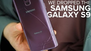 Samsung Galaxy S9 drop test: How strong is the glass?