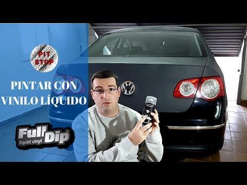 PINTAR CON VINILO LÍQUIDO || PASSAT B6 || FULL DIP