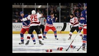 NHL Line Brawls