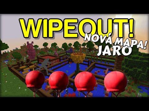NOVÁ MAPA! - ULTIMÁTNÍ JARNÍ WIPEOUT v Minecraftu !