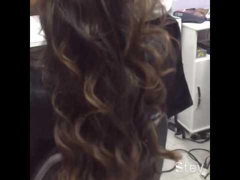 Красивые длинные волосы. Локоны.