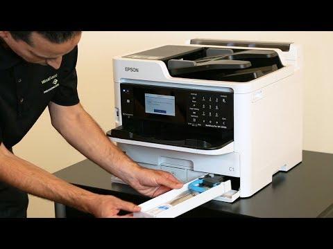 Installing Ink & Loading Paper