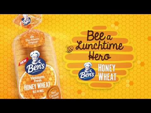 Bee a Lunchtime Hero with New Ben's Honey Wheat Bread