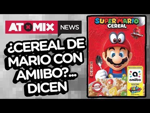 ¿Cereal de Mario con amiibo?.... dicen  – #AtomixNews [28/11/17]