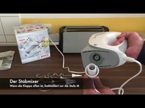 Handrührer Bosch MFQ3540 Rezension und Erdbeerschaum Zubereitung