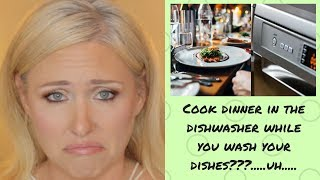 Weird hacks tested! Cook a meal in the dishwasher!