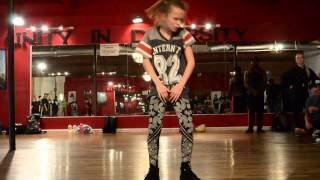 "Chris Brown ""Came To Do"" Choreography Ft. 11 yr old Taylor Hatala 
