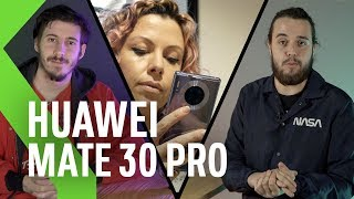 Huawei Mate 30 Pro, análisis: ¡SIN SERVICIOS DE GOOGLE! - Experiencia móvil de 3 USUARIOS DISTINTOS