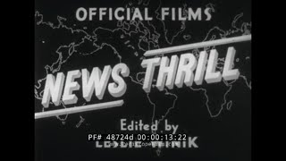 OFFICIAL FILMS NEWSREEL  D-DAY INVASION OF NORMANDY FRANCE   WWII  JUNE 6, 1944   84724d