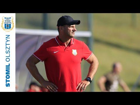 Adrian Stawski po sparingu Lechia Gdańsk - Stomil Olsztyn 2:0