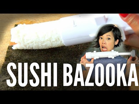 SUSHI BAZOOKA Sushezi sushi maker | Does it Work?