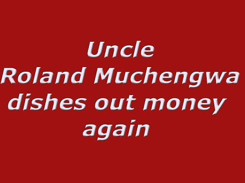 Uncle Roland Muchengwa dishes out money