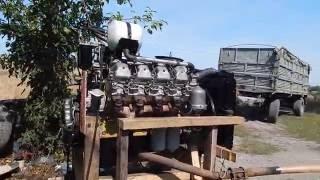 Двигатель 740.10 КАМАЗ. Первый запуск после капремонта.