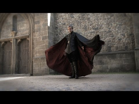 Peter Capaldi's heavy leather costume
