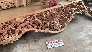 Cửa Võng Vip Gỗ Gụ Khách Thai Binh 0906011104