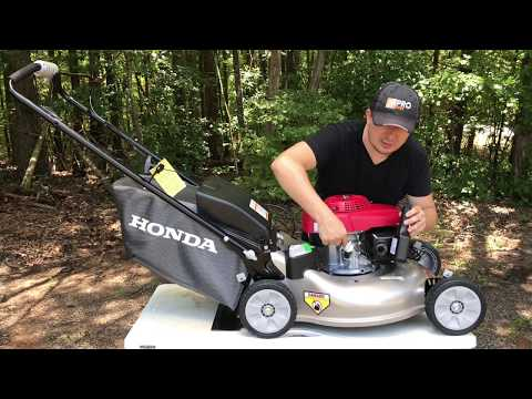 HONDA $400 Smart Drive Self Propelled Lawnmower Unboxing and Review ZIMALETA Landscaping