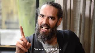 Russell Brand On Being Lazy!