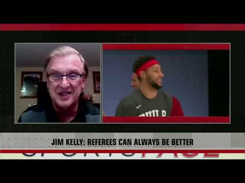 [Sport5]  Jim Kelly on how referees are performing