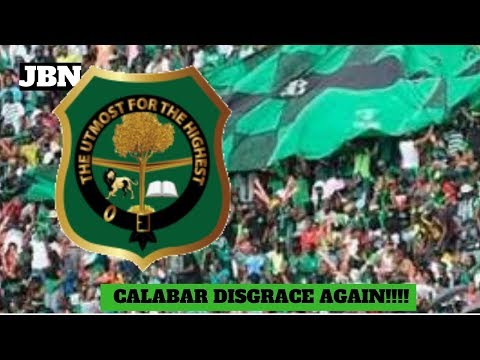 CALABAR Boys Did THEY D!sgr@ce Themselves Once AGAIN?/JBN